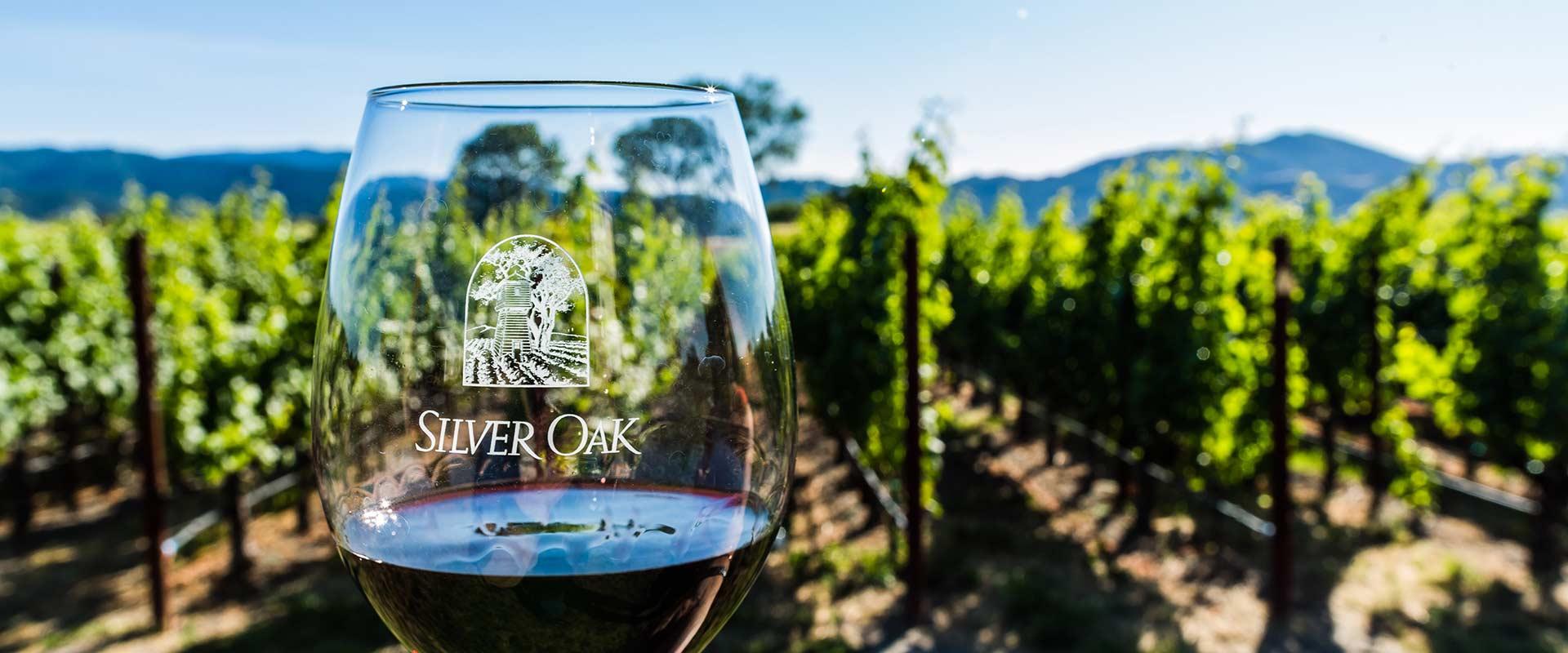 silver oak wine dinner at foxcroft wine co