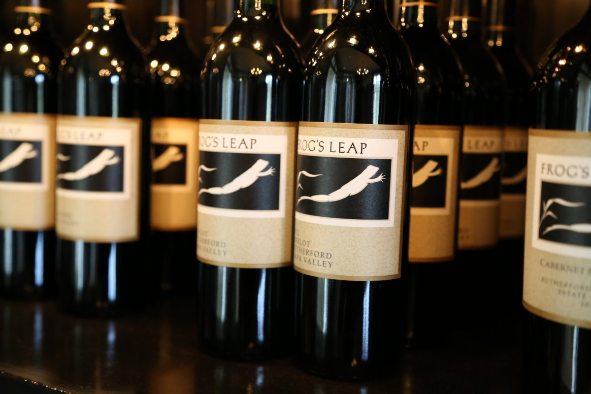 frogs leap winery dinner foxcroft wine co greenville